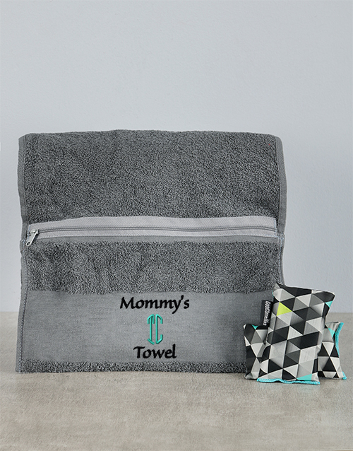 personalised: Personalised Mommys Towel Combo!