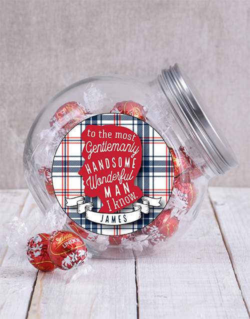 candy-jars: Personalised Man Candy Jar!