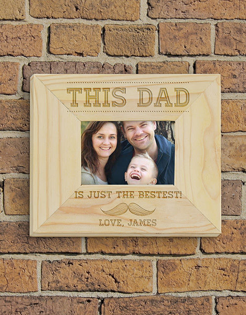 home-decor: Personalised This Dad Frame!