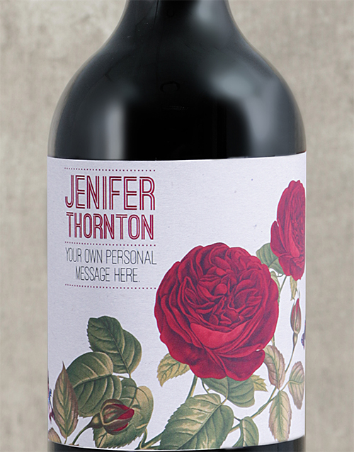 mothers-day: Personalised Rose Rage Wine!