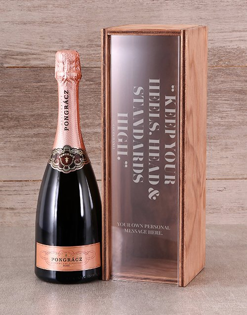 personalised: Personalised High Standards  Rose Crate!