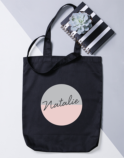 personalised: Personalised Two Tone Tote Bag!