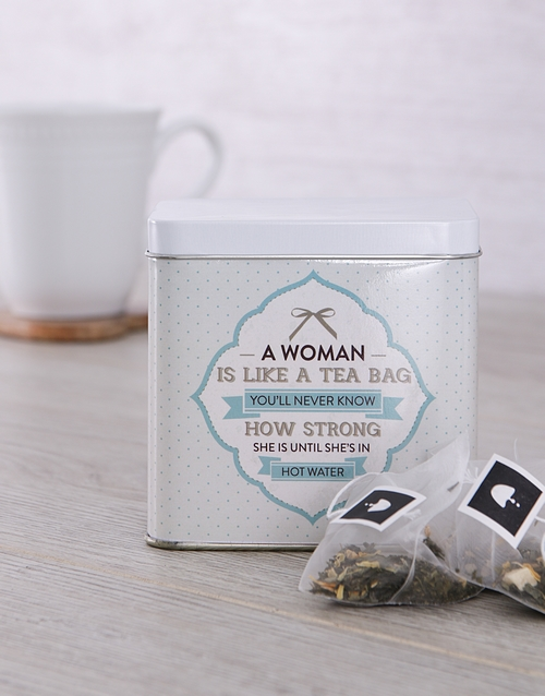 mothers-day: Personalised Strength Tea Tin!