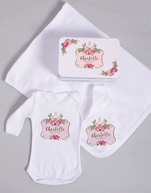 baby: Personalised Princess Spoils Gift!