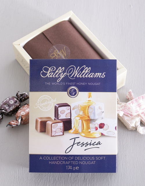 chocolate: Personalised Sally Williams Nougat Box!