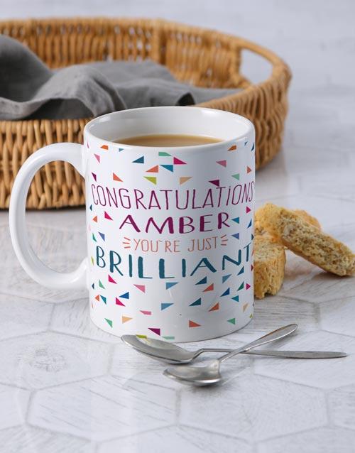 personalised: Personalised Congratulations Mug!