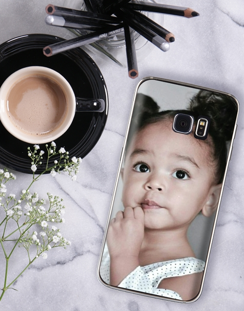 personalised: Personalised Photo Samsung Cover!