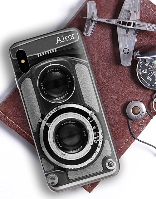 personalised: Personalised Camera iPhone Cover!