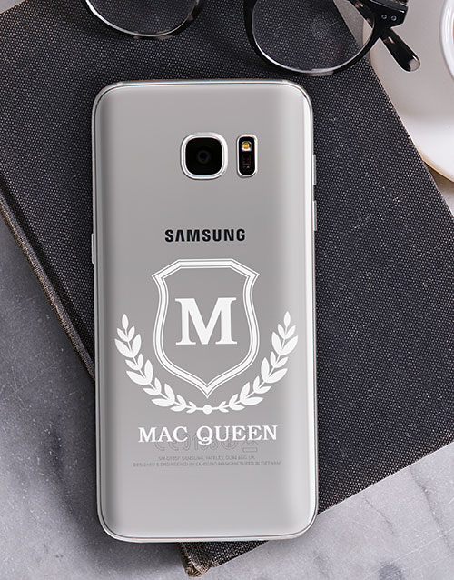 personalised: Personalised Shield Samsung Cover!