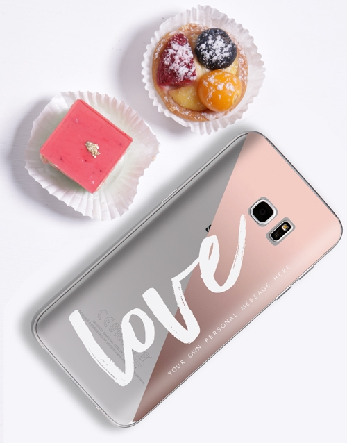 personalised: Personalised Love iPhone Cover!