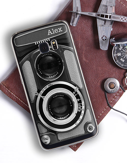 gadgets: Personalised Camera Samsung Cover!