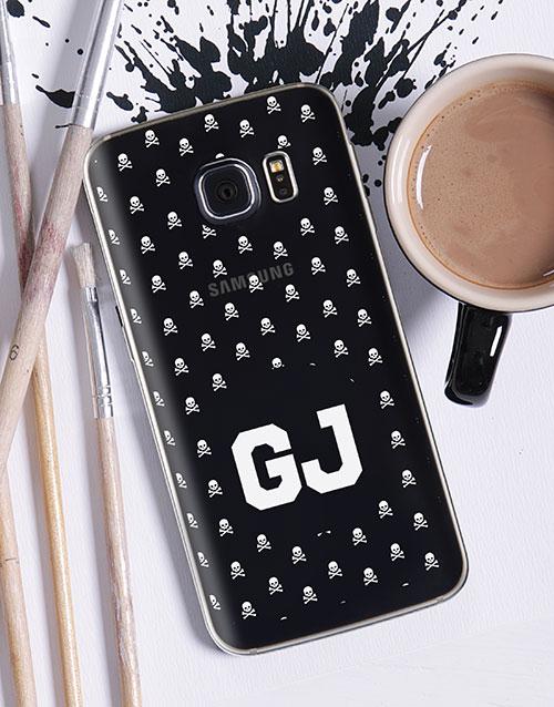 gadgets: Personalised Skulls Samsung Cover!