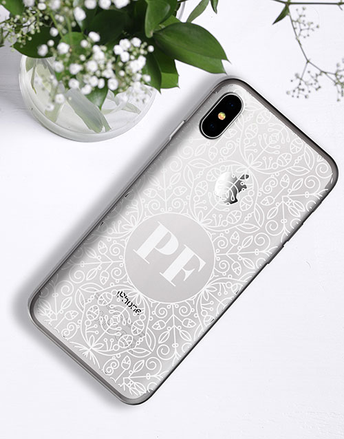 personalised: Personalised  Art Deco iPhone Cover!