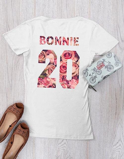 clothing: Personalised Bonnie Shirt!