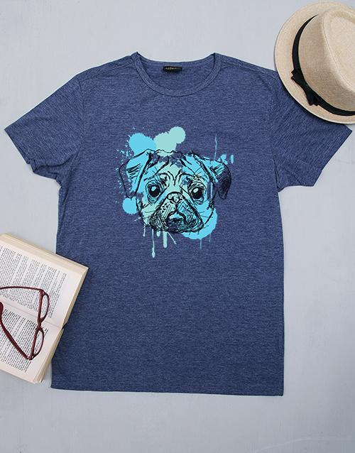 clothing: Personalised Pug Shirt!