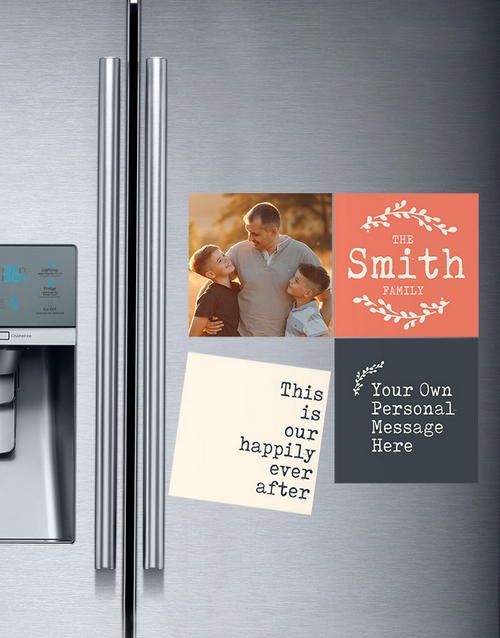mothers-day: Personalised Happily Ever After Magnets!