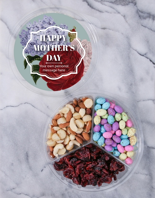mothers-day: Personalised Mother's Day Fruit & Nut Tub!