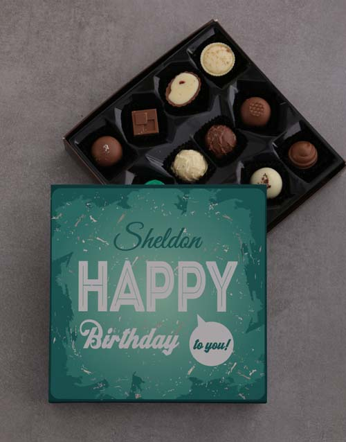 prices: Happy Birthday To You Chocolate Tray!