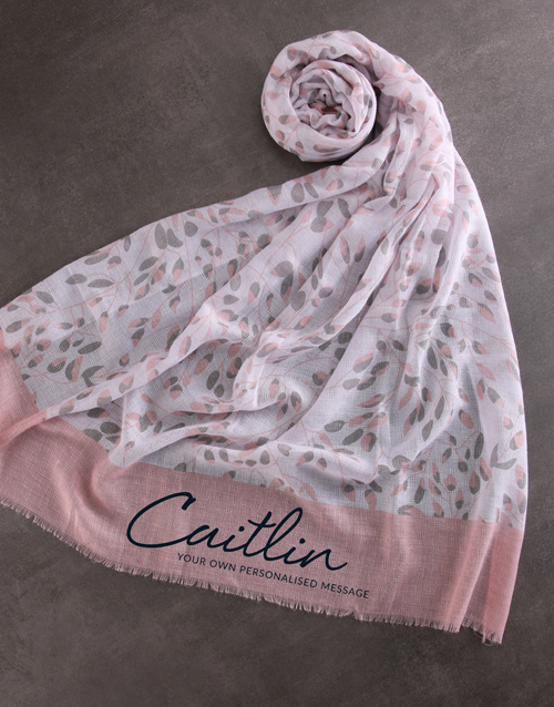 mothers-day: Personalised Serene Scarf Gift!