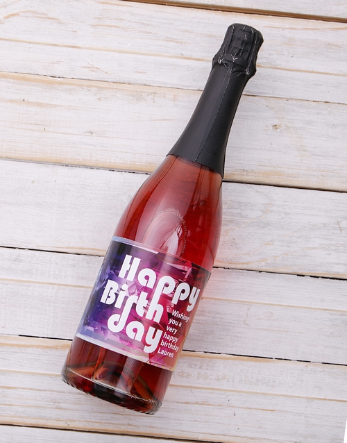 personalised: Personalised Rainbow Birthday Rose !