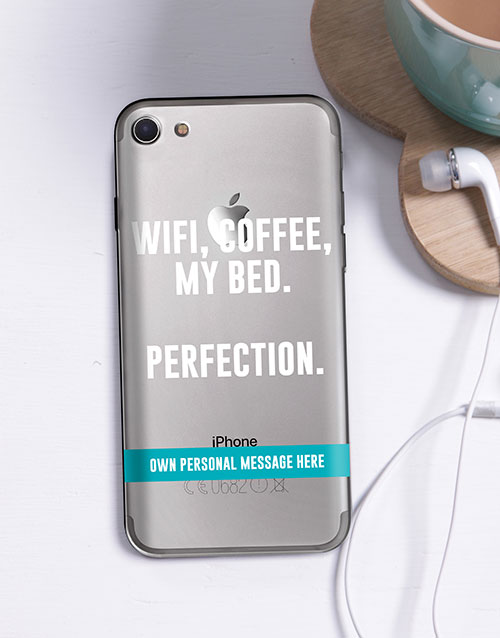personalised: Personalised Perfection iPhone Cover!