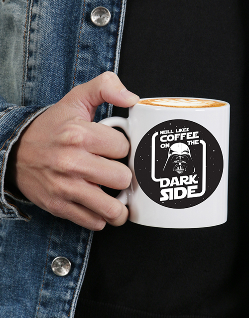 personalised: Dark Side Mug Personalised!