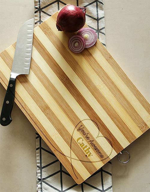 personalised: You're Awesome Chopping Board!