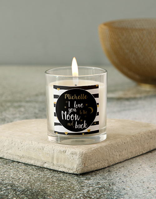 bath-and-body: Personalised I Love You Candle !