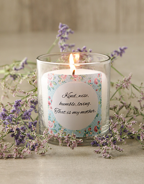 bath-and-body: Personalised Pastel Message Candle!