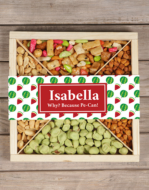 personalised: Personalised Tropical Snack Tray!