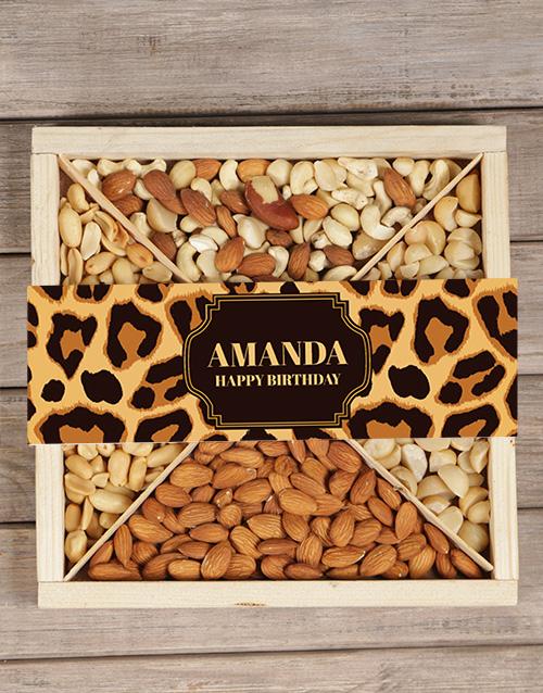 birthday: Personalised Leopard Nut Tray!