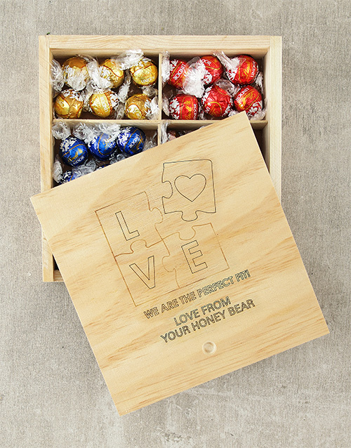 chocolate: Personalised Perfect Fit Lindt Box!