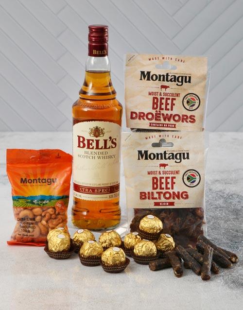 good-luck: Bells and Snacks Hamper!