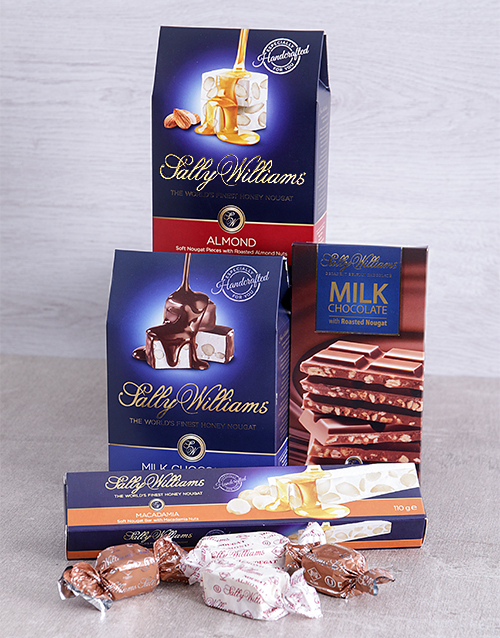chocolate: Sally Williams Nougat Gift Hamper!
