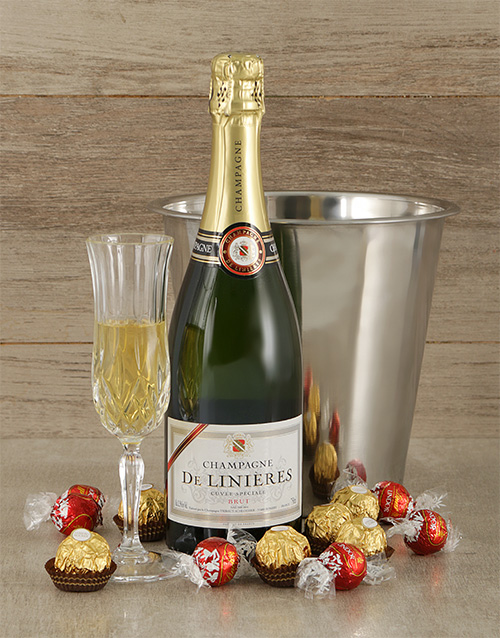 chocolate: Ice Bucket of French Champagne!