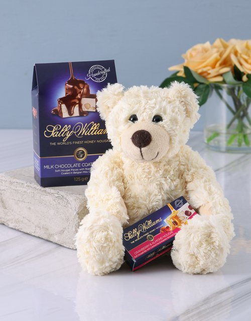 birthday: Ultimate Sally Williams and Teddy Bear Gift!