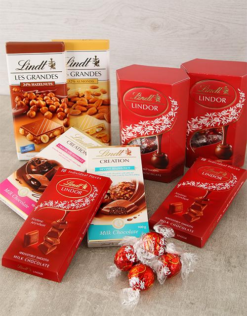 birthday: Lindt Chocolate Hamper!