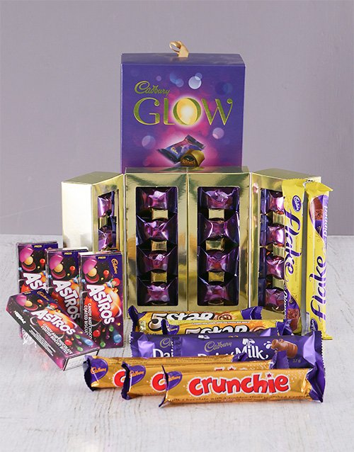 birthday: Decadent Cadburys Chocolate Hamper!