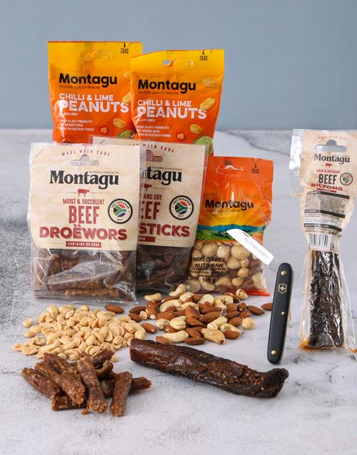 birthday: Snack Box of Biltong and Nuts!