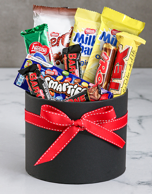 chocolate: Hat Box Treat Gift!