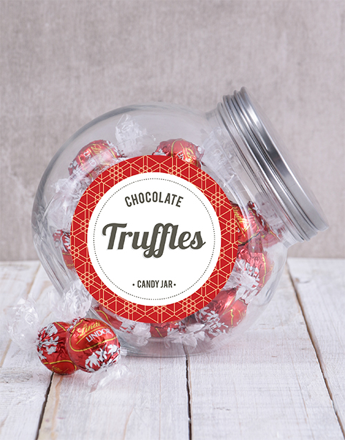 mothers-day: Lindt Chocolate Ball Candy Jar!