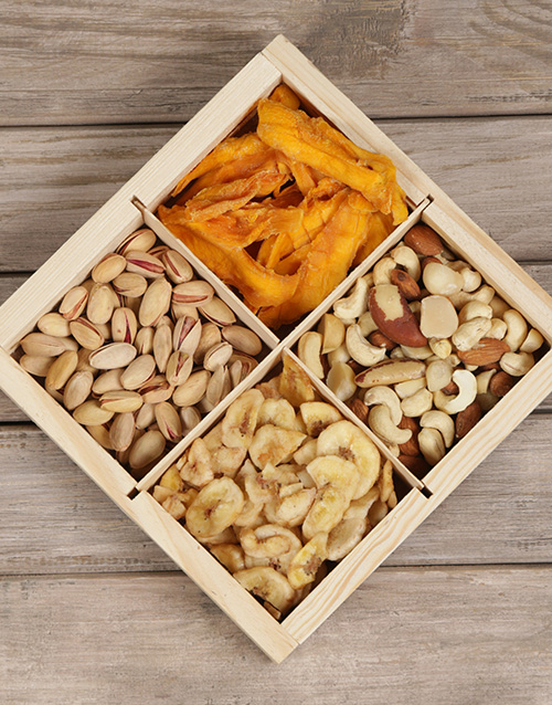 gourmet: Snack Attack Nut Hamper Gift!