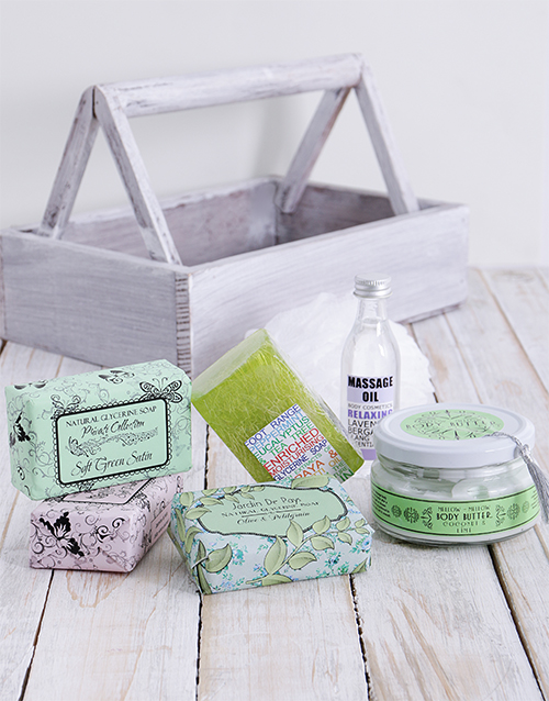 christmas: Smooth and Beautiful Feet Crate !