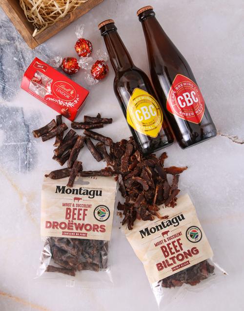 birthday: Craft Beer Biltong and Chocolate Box!