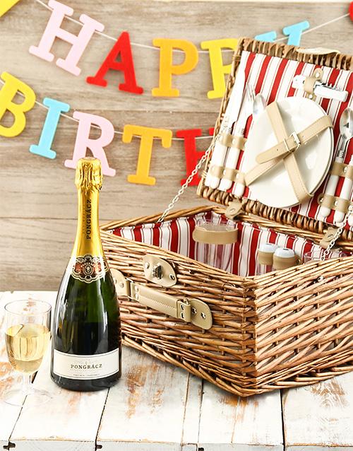 gourmet: Happy Birthday Picnic Basket!