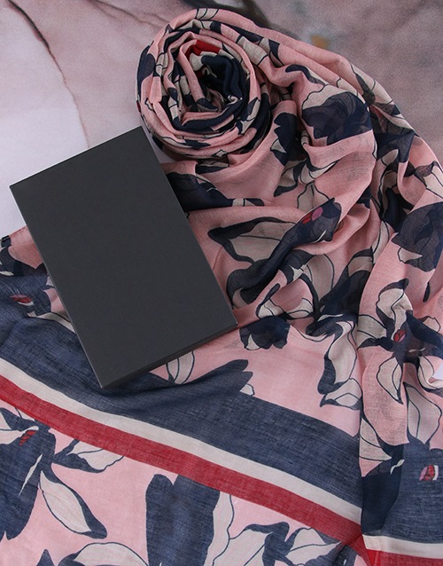 apparel: Floral Scarf Gift!