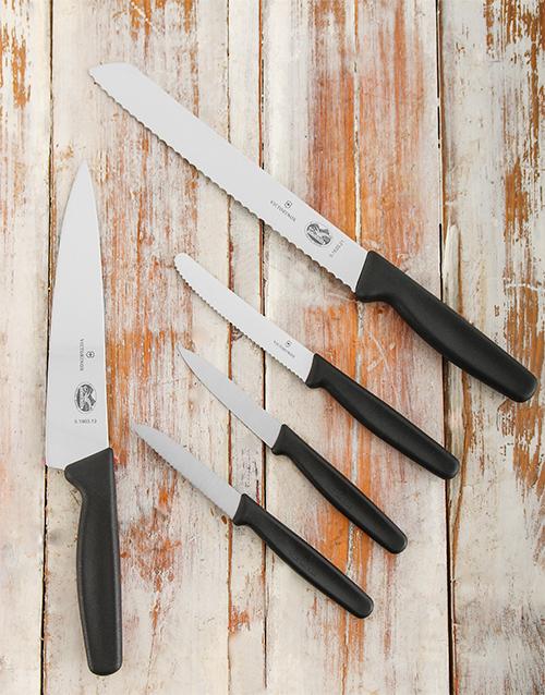 birthday: Victorinox Kitchen Set 5 piece!
