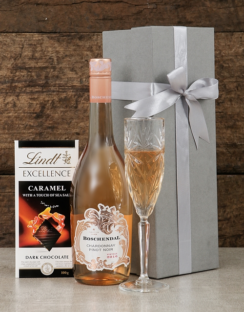 valentines-day: Boschendal Chardonnay and Lindt Box!