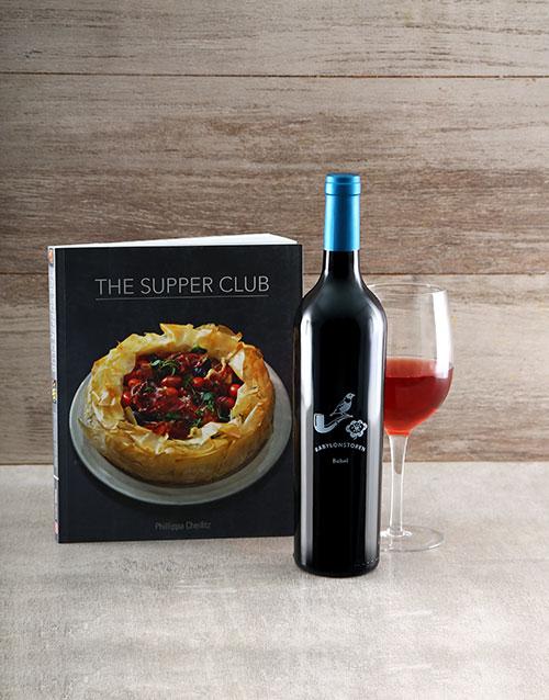 homeware: Supper Club Cookbook Hamper!