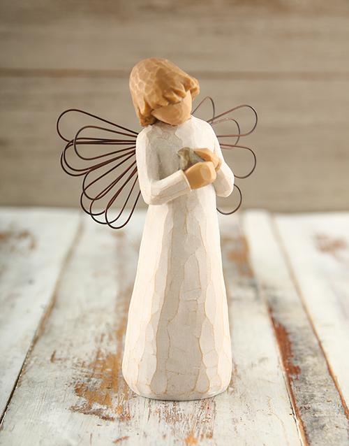 faith: Willow Tree Angel of Healing!